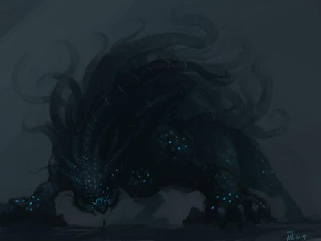 Titan of the Abyss by Naznamy