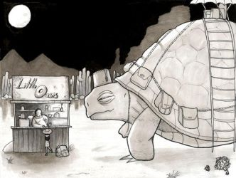 Turtle Taxi by RickyBryantJr