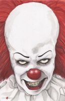 Pennywise The Clown It Stephen King by ChrisOzFulton