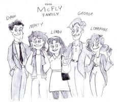 The McFly Family Animated by BreakoutClub