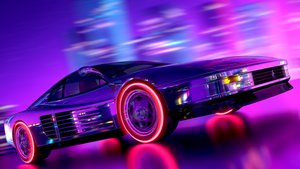 Testarossa Retrowave by ArslanDaD