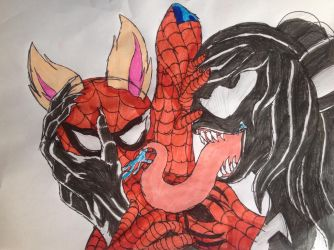 Lick Spidey! by Jazz-The-Yordle