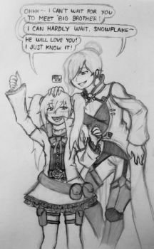 RWBY: Canon and Fanon meet-up by Exvnir