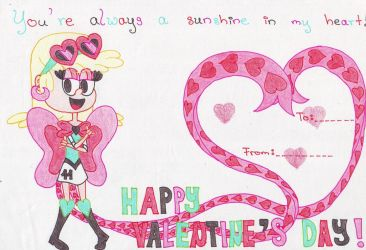 Happy Valentine's Day!! (11 of the Hearts) by momo-malt-gern