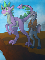 Young Dragons by Percy-McMurphy