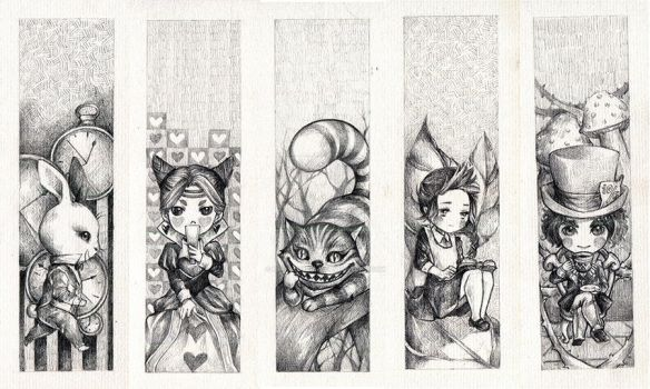 Alice In Wonderland by haonguyenly