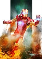 Iron Man by kosv01