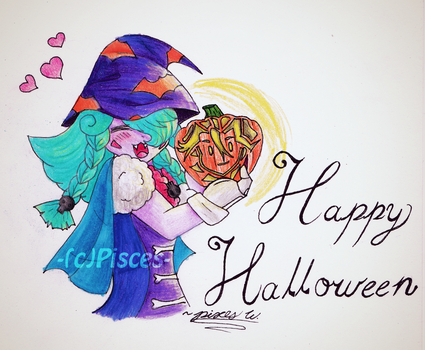 Happy (Early) Halloween! by PiscestheWeird