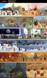Massive Star Wars Collaboration by DrZime