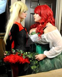 Harley and Ivy Valentines Tied Up by Vpoolephotos