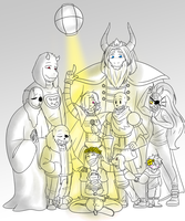 Happy 1st Anniversary Undertale!! by The-NoiseMaker