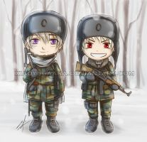 APH: Little Soldiers by xiaoyugaara