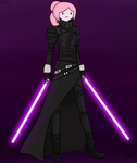 Sith Lord Bonnie-Adventure Time x Star Wars #2 by Andrasfu1027