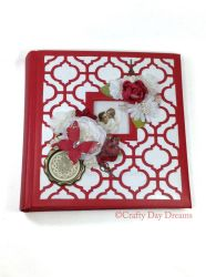 Red and White Photo Album by Midgit2230