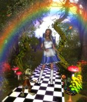 Alice to  Wonderland by sweetpoison67