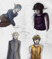 Some People Speedpaints by A-Girl-Named-Chester