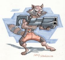 RocketRaccoon by Stnk13