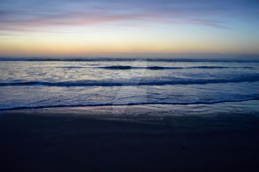As the Ocean Goes to Sleep. by CTilsonPhotography