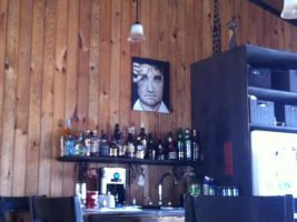 Elvis on the wall by ReneeTr