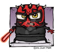 Darth Maul by stuartmcghee