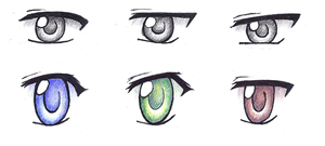 Eyes by Dessins-par-Maida