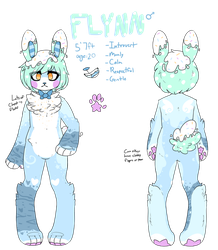 Flynn Ref by royalraptors