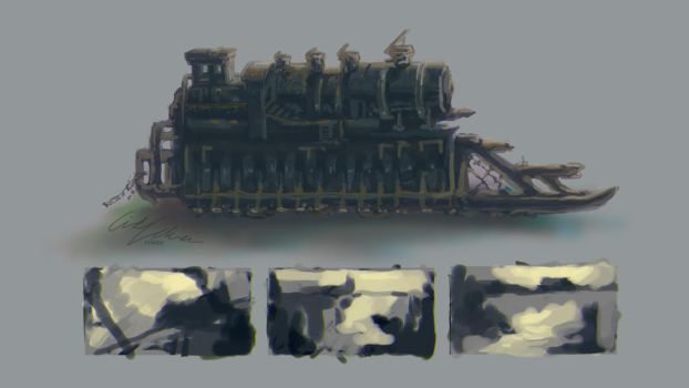 Concept: Locomotive by velaine
