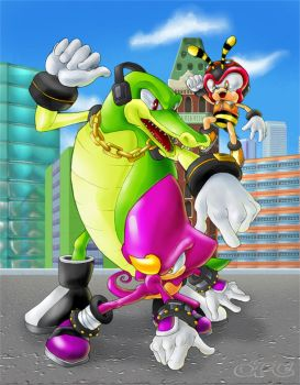 Team Chaotix by CPC