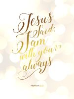 Psalm 18:2 - Christian Poster by mostpato