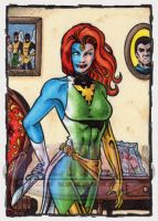 Mystique Sketch Card by tonyperna