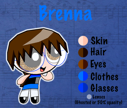 Brenna Reference by PPGirl16