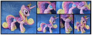 Crystal Princess Cadence Custom Plush by Nazegoreng
