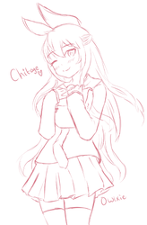 Chitoge by Owlxie