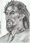 Stargate Atlantis Sketch Card Ronon Dex by JonDjulvezan