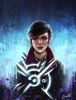 Emily Kaldwin Dishonored 2 by Sicarius8