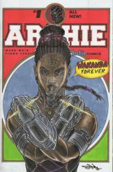 Shuri of MCU's Black Panther by Dingodile24