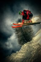 Skiing In Davos III by DrySin