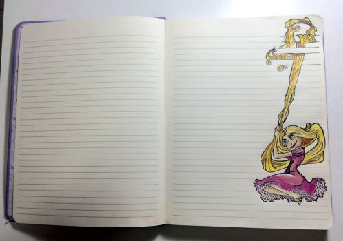 Notebook Tangled Draw by peritto