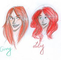 Comparing our levely readheads by salma17