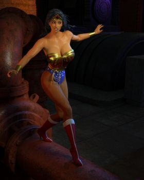 Classic Wonder Woman 01 by willdial