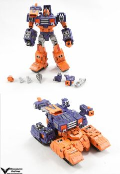 Transformers Custom Generations Impactor by chonosmoon