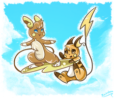 Chu Surfing by PlatinaSena