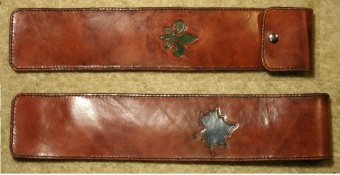 Leather Baton Case by JN-Leather