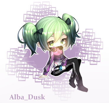 chibi commission for @Yandere_Kami on twitter 1/3 by AlbaDusk