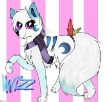 Wizz(art trade)lighter by wolfdrawing2