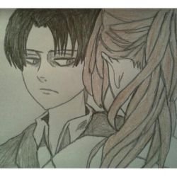 Levi Ackerman - Fanfiction Cover by EvaBirthday