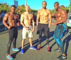 Park workout with my buds by johnny-martinez