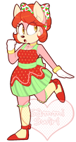 ( CLOSED ) - Strawberry Child - by SimSamAdopts