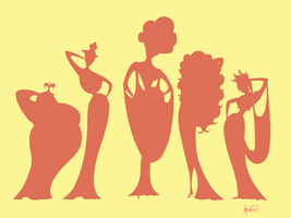 The Muses by witchenmoon1