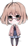 Mirai kuriyama by AS-Adoptables